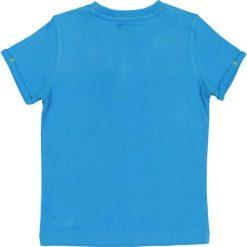 Nativo - T-shirt dziecięcy 104-122 cm. Niebieskie t-shirty męskie z nadrukiem Nativo, z bawełny. W wyprzedaży za 21,90 zł.