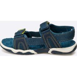 Timberland - Sandały dziecięce. Szare sandały chłopięce marki Timberland, z gumy. W wyprzedaży za 189,90 zł.
