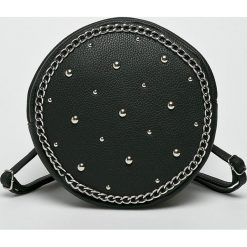 Missguided - Plecak. Czarne plecaki damskie marki Missguided, z materiału. W wyprzedaży za 99,90 zł.