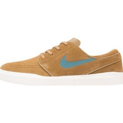 Nike SB STEFAN JANOSKI HYPERFEEL Tenisówki i Trampki golden beige/sequoia/sail. Brązowe trampki męskie Nike SB, z materiału. W wyprzedaży za 204,50 zł.