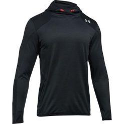 Bluzy męskie: Under Armour Bluza męska ColdGear® Reactor Fleece Hoodie grafitowo-czarna  r. S (1299168-016)