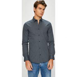 Only & Sons - Koszula. Szare koszule męskie na spinki Only & Sons, l, z bawełny, z klasycznym kołnierzykiem, z długim rękawem. W wyprzedaży za 129,90 zł.