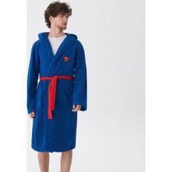 Szlafrok Superman - Niebieski. Niebieskie szlafroki męskie House, l, z motywem z bajki. Za 89,99 zł.