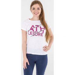 4f Koszulka damska H4L17-TSD015 4F biała r. M (H4L17-TSD015). Białe topy sportowe damskie 4f, l. Za 24,79 zł.