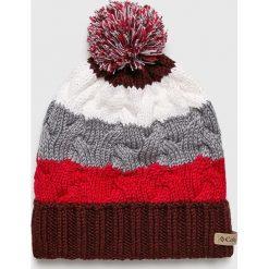 Columbia - Czapka/kapelusz CU9217. Szare czapki zimowe damskie Columbia, na zimę, z dzianiny. Za 99,90 zł.
