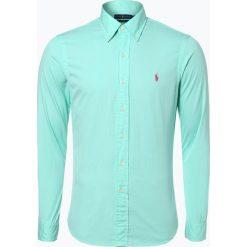 Polo Ralph Lauren - Koszula męska, zielony. Zielone koszule męskie na spinki Polo Ralph Lauren, m, z haftami, button down. Za 299,95 zł.