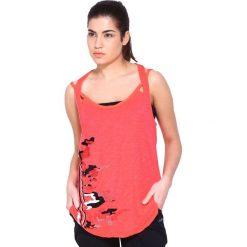 Reebok Koszulka damska Dance Strp Tank różowa r. S (Z83435). Szare bluzki z odkrytymi ramionami marki Reebok, l, z dzianiny, casualowe, z okrągłym kołnierzem. Za 46,00 zł.