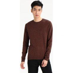 Swetry męskie: Topman HONEY TWIST SIDE Sweter brown