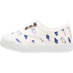 Creepersy damskie: Victoria Shoes INGLES PECES TINTADO Półbuty wsuwane blanco