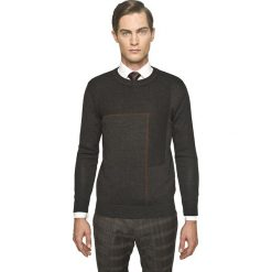 Sweter slam półgolf grafit. Czarne swetry klasyczne męskie Recman, m, z golfem. Za 229,00 zł.