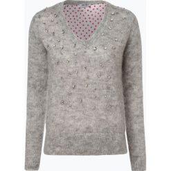Liu Jo Collection - Sweter damski z dodatkiem moheru, szary. Szare swetry klasyczne damskie Liu Jo Collection, m, z materiału. Za 899,95 zł.