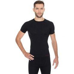 Brubeck Koszulka męska z krótkim rękawem ACTIVE WOOL czarny r. M (SS11710). Czarne t-shirty męskie marki Brubeck, m, z krótkim rękawem. Za 108,99 zł.