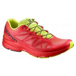 Buty sportowe męskie: Salomon Buty Sonic Pro Radiant Red/Radiant Red/Gecko Green 44.7