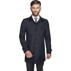 Płaszcze męskie: płaszcz arago granatowy