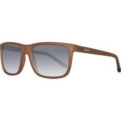 Okulary przeciwsłoneczne męskie: Okulary męskie w kolorze jasnobrązowo-szarym