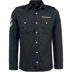 Rammstein Rammstein Koszula czarny. Czarne koszule męskie na spinki marki Cropp, l. Za 244,90 zł.