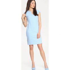 Sukienki: SUKIENKA DAMSKA Z FAKTURĄ