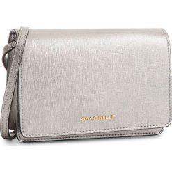 Torebka COCCINELLE - CV3 Mini Bag E5 CV3 55 D6 05 Silver Y69. Szare listonoszki damskie Coccinelle, ze skóry, zdobione. W wyprzedaży za 589,00 zł.