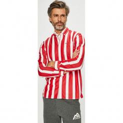 Tommy Jeans - Koszula. Szare koszule męskie jeansowe Tommy Jeans, l, w paski, button down, z długim rękawem. Za 359,90 zł.