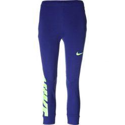 Nike Performance PANT Spodnie treningowe deep royal blue. Czarne spodnie chłopięce marki Nike Performance, z bawełny. W wyprzedaży za 135,15 zł.
