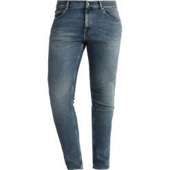 Tiger of Sweden Jeans EVOLVE Jeansy Slim Fit blue denim. Niebieskie jeansy męskie relaxed fit marki Tiger of Sweden Jeans. Za 589,00 zł.