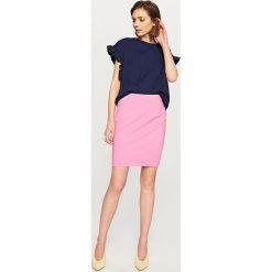 Spódniczki: Ołówkowa spódnica – Różowy