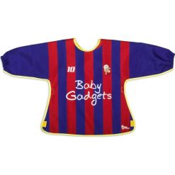Baby Sportsman - Śliniak z rękawami (GAD02297). Fioletowe śliniaki marki Baby Gadgets. Za 38,90 zł.