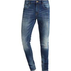Scotch & Soda SKIM  Jeans Skinny Fit kimono yes. Niebieskie rurki męskie Scotch & Soda, z bawełny. W wyprzedaży za 377,10 zł.