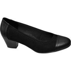 Buty ślubne damskie: czółenka damskie Easy Street czarne