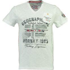 """T-shirty męskie z nadrukiem: Koszulka """"Jouri"""" w kolorze białym"""