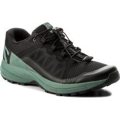 Buty SALOMON - Xa Elevate 401359 27 V0 Black/Balsam Green/Black. Szare buty do biegania męskie marki Salomon, z gore-texu, na sznurówki, gore-tex. W wyprzedaży za 369,00 zł.