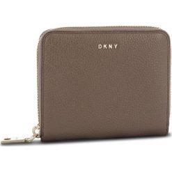 Duży Portfel Damski DKNY - Sm Zip Around R831A656 Desert DES. Brązowe portfele damskie DKNY, ze skóry. Za 509,00 zł.