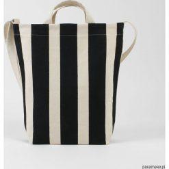 Ekologiczna torba na ramię w czarne pasy. Czarne torby na ramię męskie Pakamera, na ramię. Za 229,00 zł.