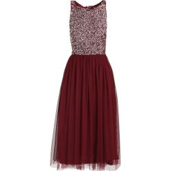 Sukienki hiszpanki: Lace & Beads PICASSO Sukienka koktajlowa burgundy