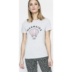 Undiz - Top piżamowy. Białe piżamy damskie marki MEDICINE, z bawełny. W wyprzedaży za 29,90 zł.