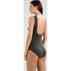 Stroje kąpielowe damskie: MICHAEL Michael Kors LOGO BAR HIGH NECK ONEPIECE Kostium kąpielowy ivy