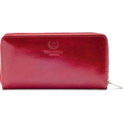 Ekskluzywny portfel damski Paolo Peruzzi. Czerwone portfele damskie marki Paolo Peruzzi, ze skóry. Za 129,90 zł.