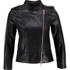 Odzież damska: Armani Exchange Kurtka skórzana black
