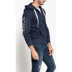 Bluza z kapturem. Szare bluzy męskie rozpinane La Redoute Collections, m, z bawełny, z kapturem. Za 163,76 zł.