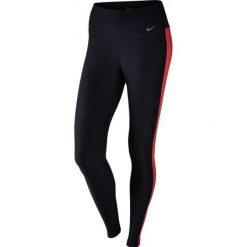 Legginsy damskie do fitnessu: Nike Sportowe Legginsy W Dry Tight Poly 802954 011 L