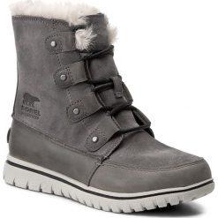 Śniegowce SOREL - Cozy Joan NL2745 Quarry 052. Szare śniegowce damskie Sorel, z gumy. W wyprzedaży za 379,00 zł.