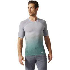 Adidas Koszulka Prime Knit Wool Sh Sleeve Tee Dip Dye szara r. L. Szare koszulki sportowe męskie Adidas, l. Za 246,00 zł.