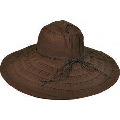 Kapelusz damski Słońce pustyni brązowy (kp2134-7). Brązowe kapelusze damskie Art of Polo. Za 36,52 zł.