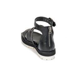 Sandały Now  PADOU. Zielone sandały damskie marki Now. Za 767,20 zł.