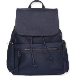 """Plecaki damskie: Plecak """"Capri"""" w kolorze granatowym – 32 x 28 x 13 cm"""