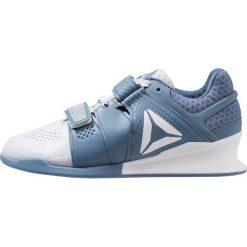 Reebok LEGACYLIFTER Obuwie treningowe cloud grey/blue slate. Niebieskie buty sportowe damskie Reebok, z materiału. Za 759,00 zł.