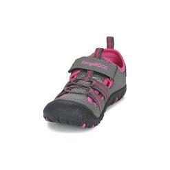 Sandały sportowe Dziecko  Kangaroos  KANGASPEED X4. Niebieskie buty sportowe dziewczęce marki KangaROOS. Za 104,30 zł.