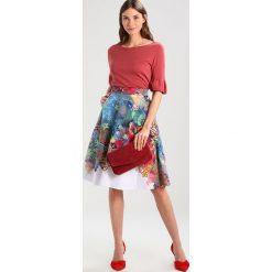 Spódniczki trapezowe: Ivko SKRIT FLORAL PRINT Spódnica trapezowa blau