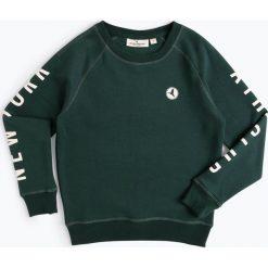 Jonas Nielsen Stockholm - Chłopięca bluza nierozpinana, zielony. Zielone bluzy chłopięce rozpinane Jonas Nielsen Stockholm, z napisami. Za 129,95 zł.