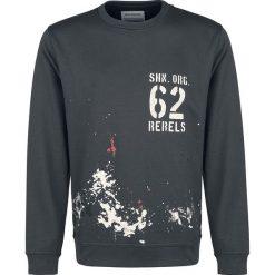 Bejsbolówki męskie: Shine Original Terrel - Rock n' Roll Bluza czarny